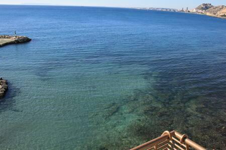 Apto 1° Línea de Playa #JGHomeAlicante Covid FREE