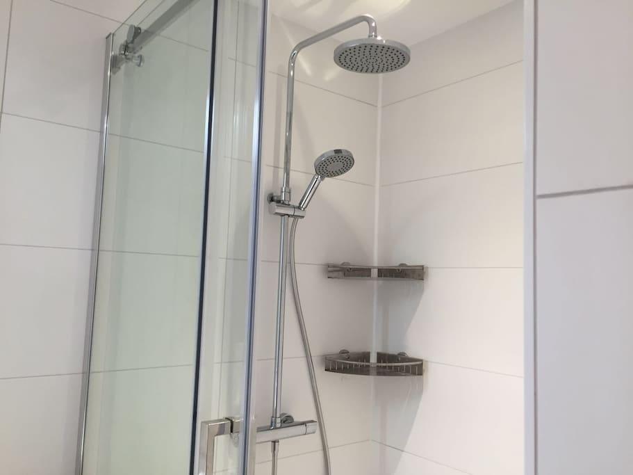 big nice showerhead