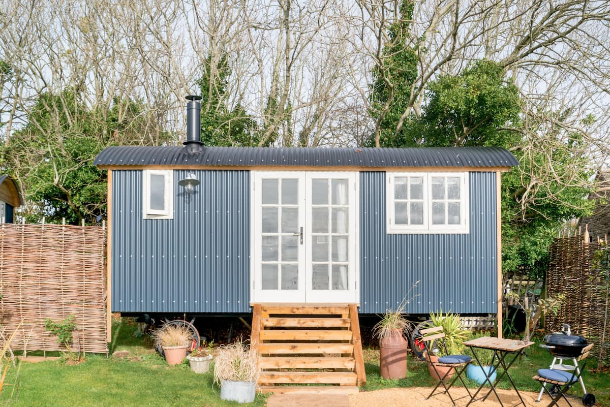 Go Glamping in a Cosy Shepherd's Hut in Worth Matravers