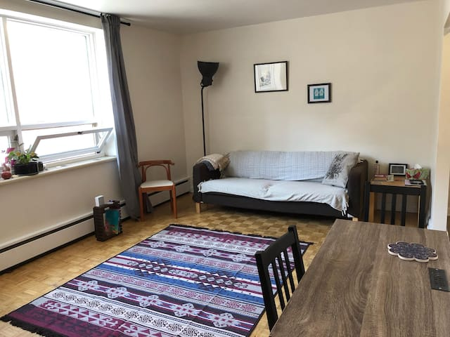 Cosy & Spacious 1 Bedroom Apartment at Centretown