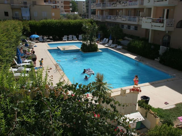 2-room apartment for 6 people, 37 m² Residenza Buganvillea