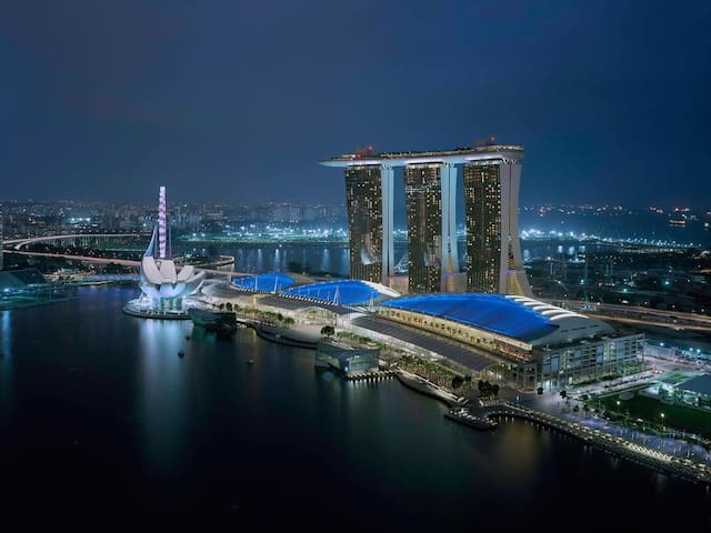 1 BR Deluxe King @Marina Bay Sands Singapore