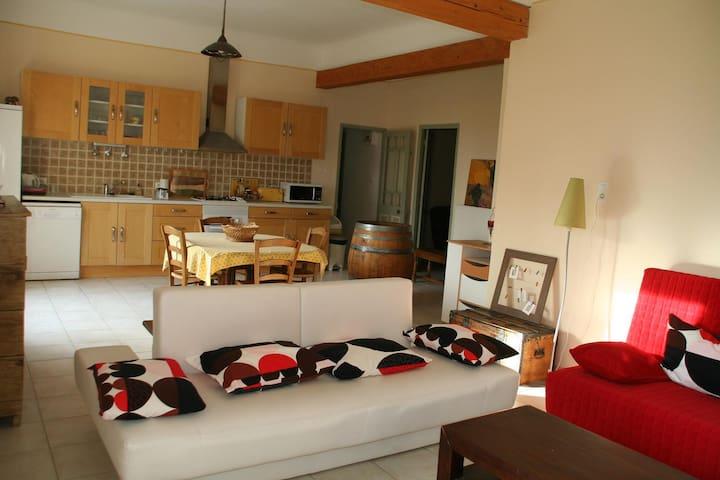 Maison indépendante dans mas provençal Tarascon