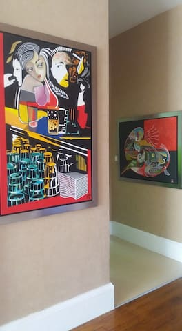 Chambres dans un château atelier d'artiste - Cornimont - Slott