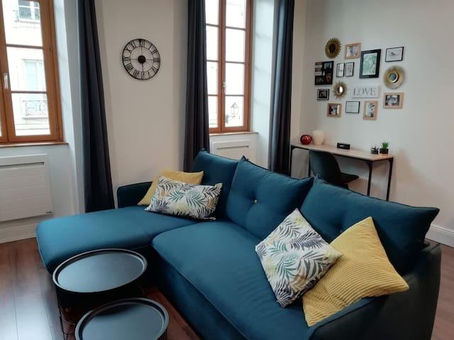 Très bel appartement – 45 m2 – centre historique