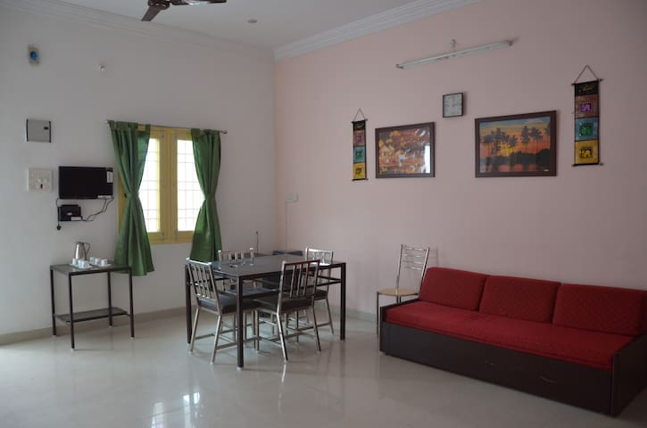 TV,AC & Furnished - Vellore Garden View amal house