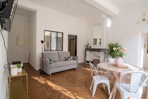 Appartement 55m² - 2/4 personnes en centre ville