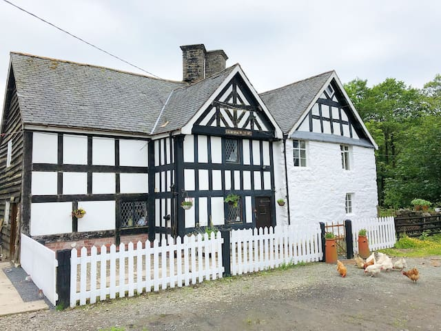 17th Century 1664 timber frame Welsh Farmhouse