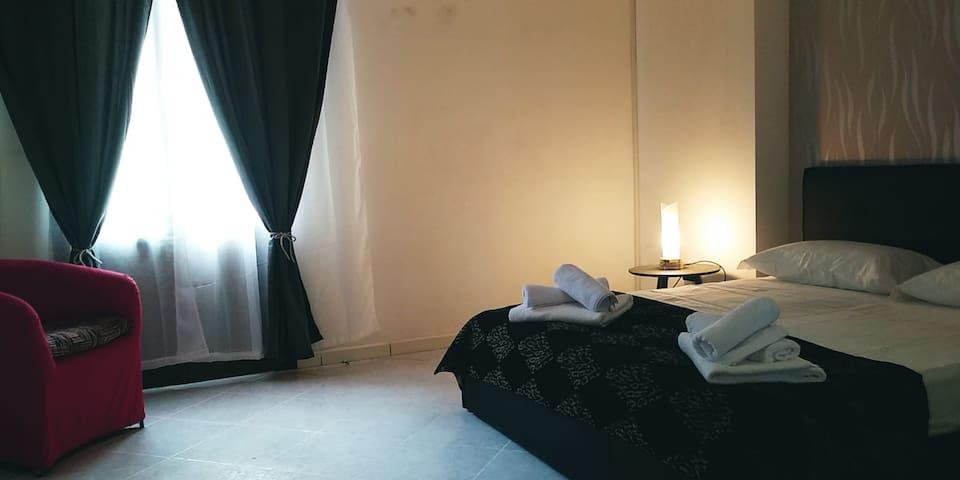 Camere comode e spaziose
