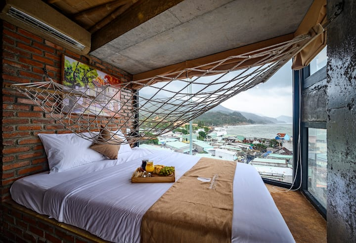 Phòng giường đôi -  Việt Nam nhìn ra đại dương