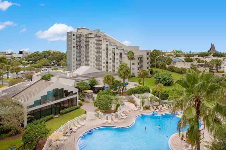 2 Bedroom Condo Hotel - Close To Universal Studios