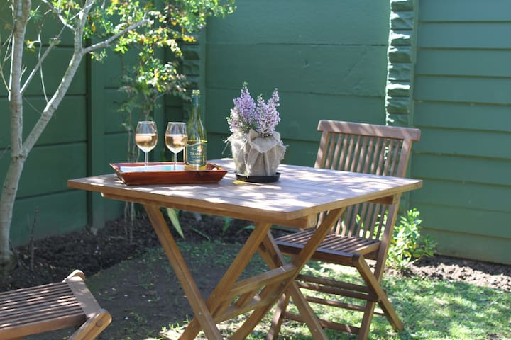 Table & chairs for outdoor relaxing