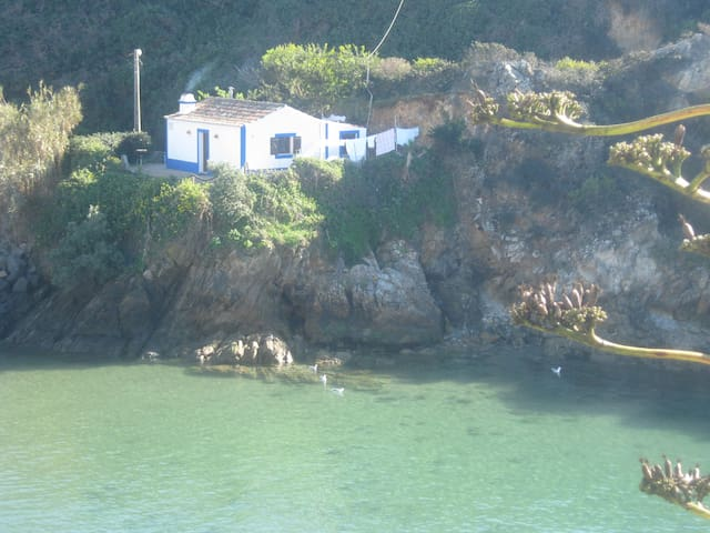 Fisherman's House on the seafront