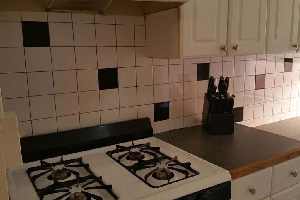 Kitchen in unit 2