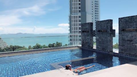 亲爱的客栈 超美海景网红公寓Serenity Wongamat