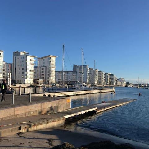 Fräsch 4:a i centrum, nära allt! - Helsingborg - Apartment