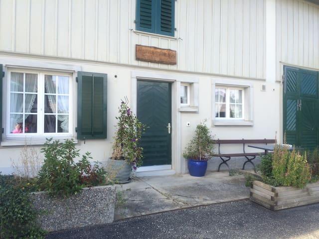 Auf dem Land und nah am Wasser - Altnau - Apartment