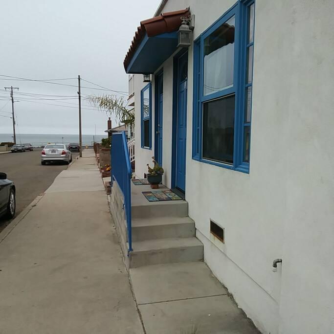 Front Porch of unit 1 & 2