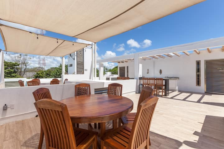 Casa Coral 2 Prívate Roof&Jacuzzi/12ppl-up  to 24*