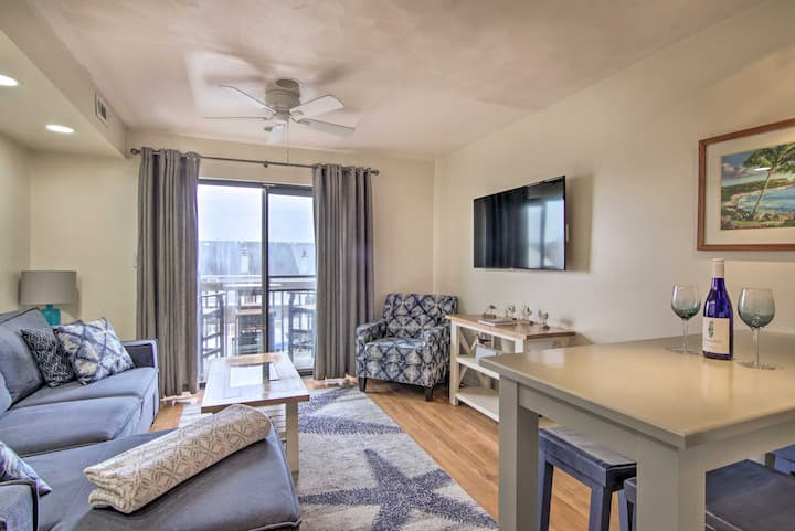NEW! Ocean City Escape w/ Deck - Walk to Beach!