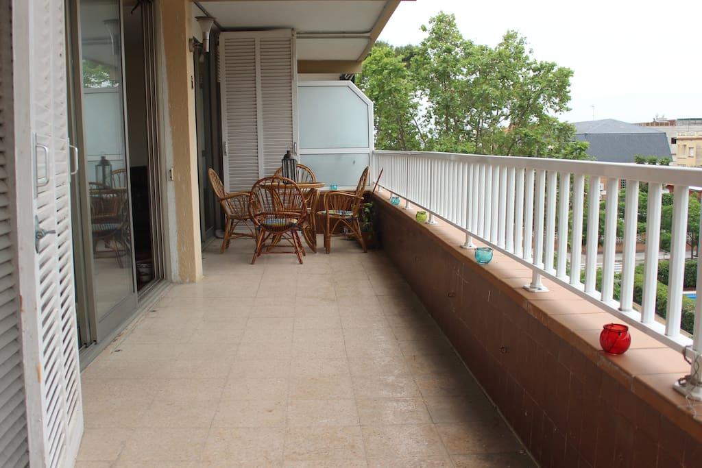 terraza de 20mts