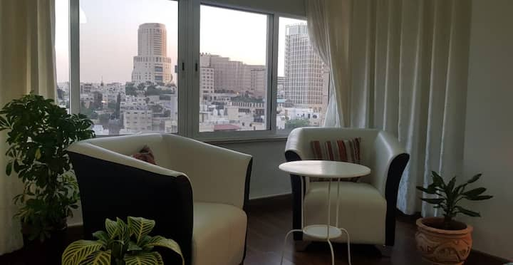Amazing view city center 2 bedrooms new furniture
