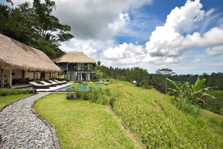 Compound 4 Bedroom Villa in Ubud;