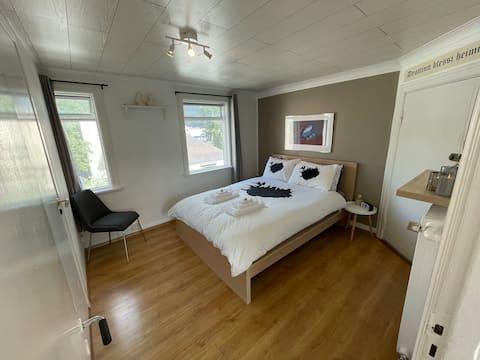 Bekväm lägenhet i Downtown Akureyri