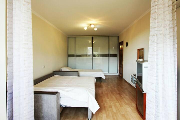 Апартаменты с прекрасным расположением
