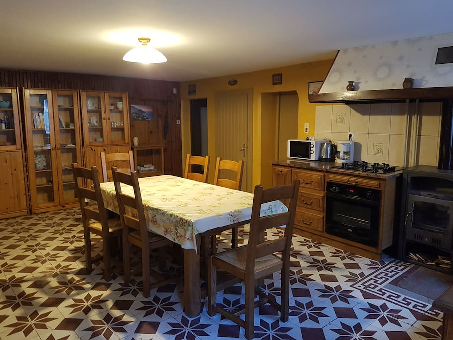 Grandes cuisine, pièce centrale de la maison