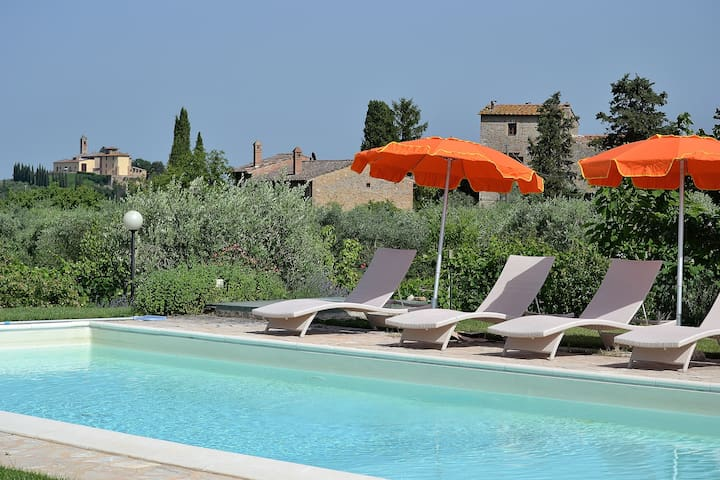 #1 Real Tuscan Apt Panoramic Pool