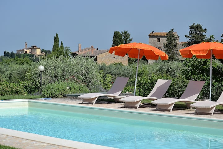 #1 Real Tuscan Apt Panoramic Pool