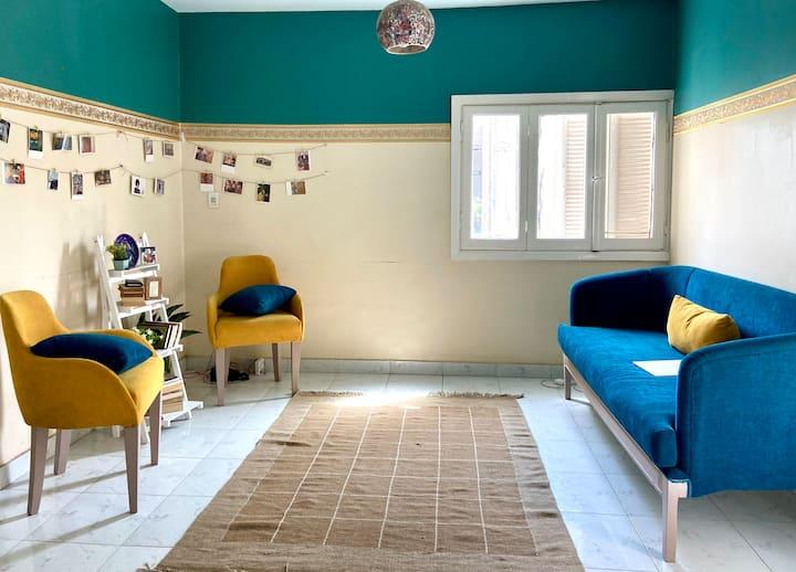 Cozy double room in nasr city
