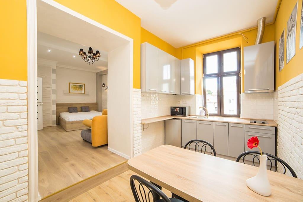 lviv airbnb apartment