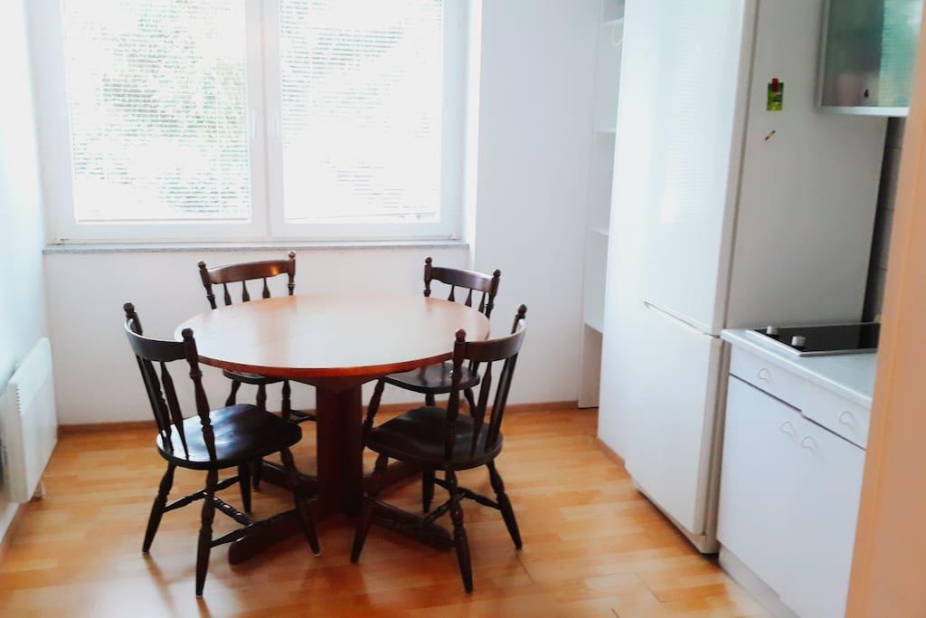 Kitchen- dinning room