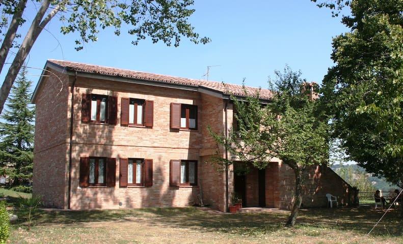 Villa with large garden in Sarnano