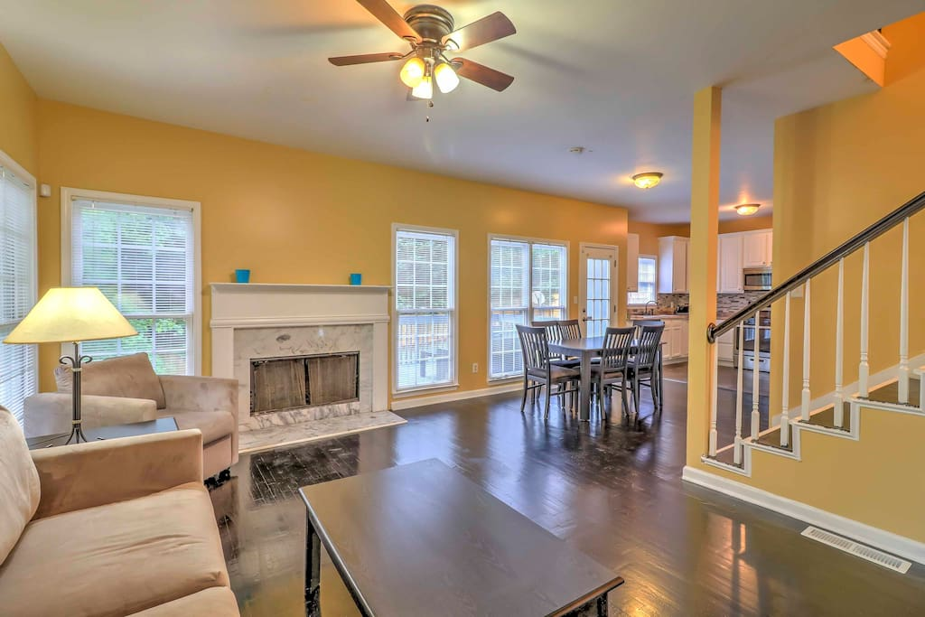 Inside, the home boasts 2,230 square feet of well-appointed living space.