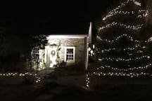 The Guest House is always nicely decorated for the holidays!