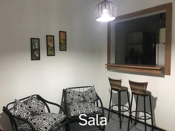 Magnífico quarto e sala  no ❤ da Rio Branco
