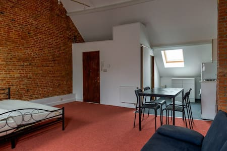 Loft studio in the historic center - Anvers - Appartement