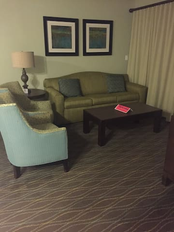 Single Sofa Bed $59 per night Entire 3 Rooms $ 175 per night with kitchen
