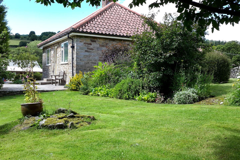 Secluded garden