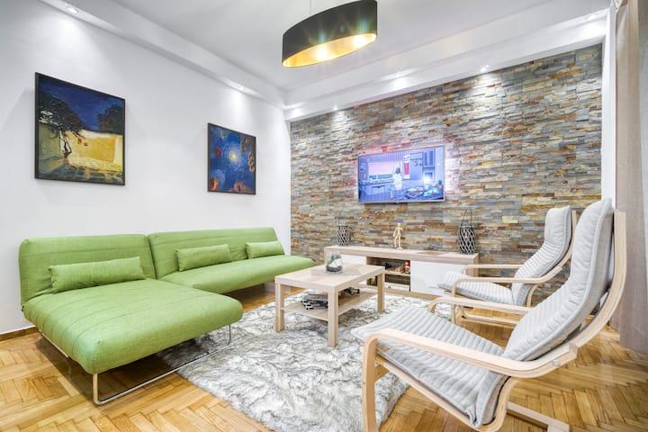 Athens Alex Apartment 73m2 ⭐️⭐️⭐️⭐️⭐️