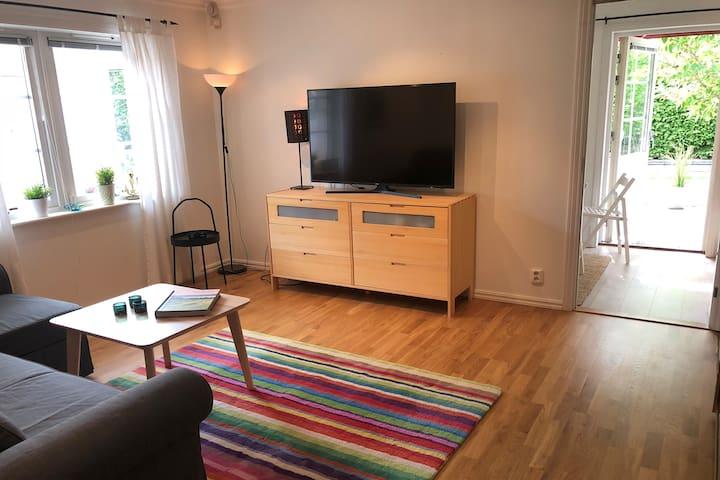 Egen lägenhet nära naturen