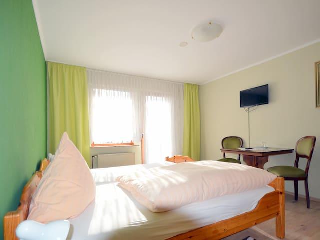 Doppelzimmer Standard im Landgasthaus Waldesruh