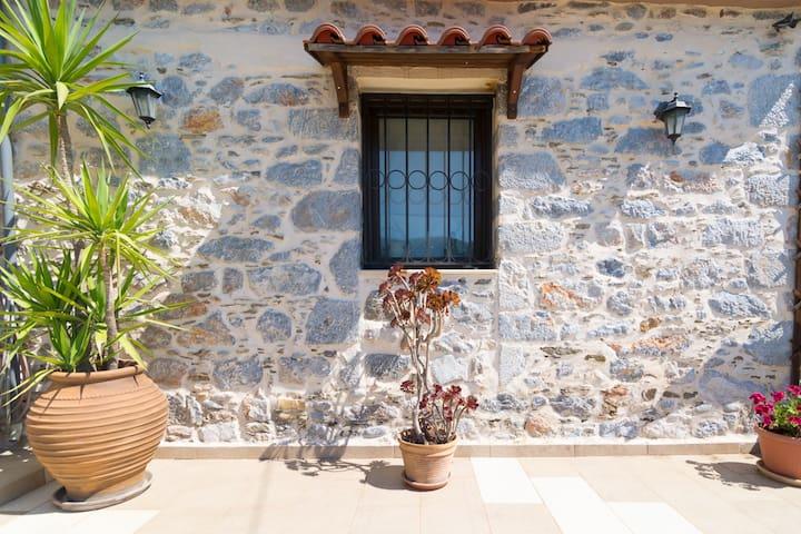 Traditional Cretan Stone House