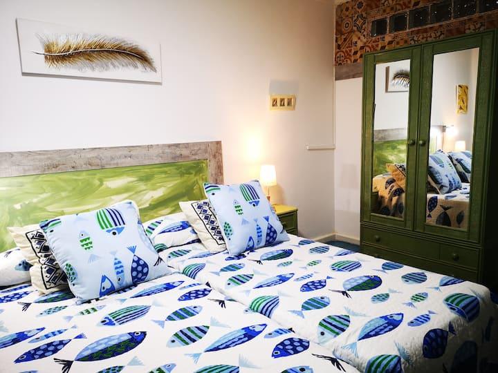 Apartamento,Estilo Canario, 1ªLinea Playa Canteras