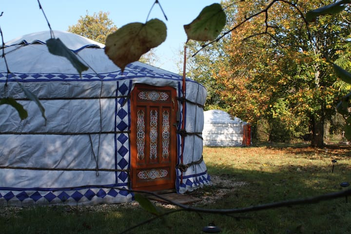 Yourtes de Jean Paul- Yourte Couple - Villeneuve-sur-Yonne - Yurt