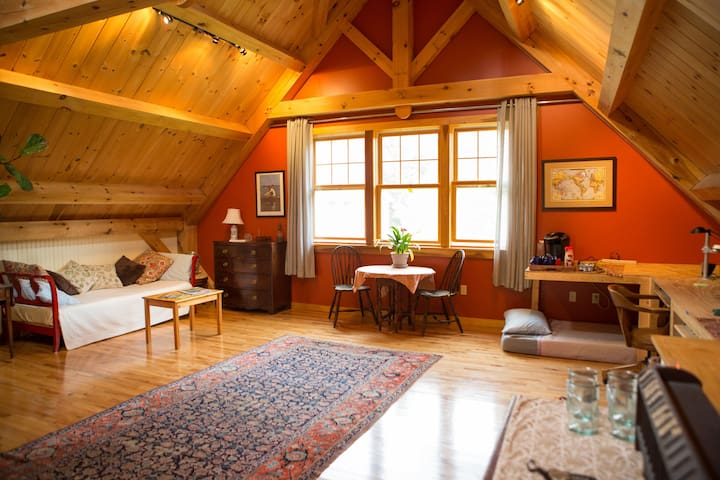 The Perfect Cozy Weekend Escape - Hinesburg - Daire