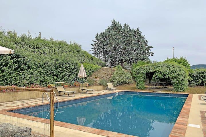 Caratteristica villa con piscina a Cortona